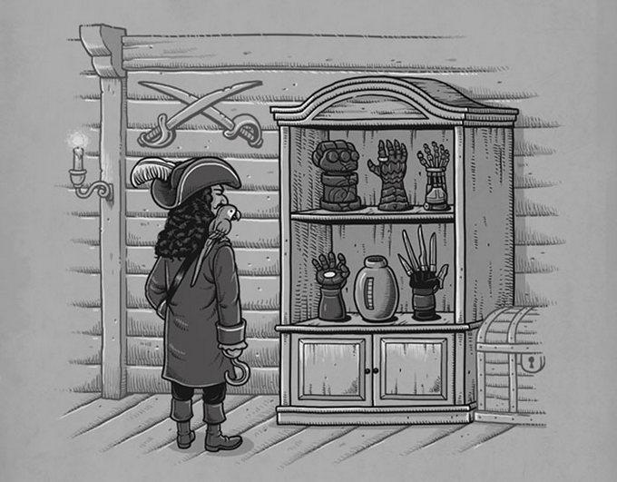 40 ilustrações inteligentes inspiradas em elementos da cultura pop por Ben Chen 16