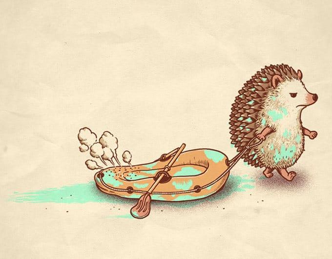 40 ilustrações inteligentes inspiradas em elementos da cultura pop por Ben Chen 31