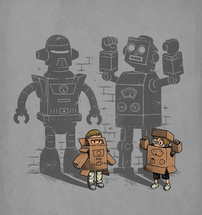 40 ilustrações inteligentes inspiradas em elementos da cultura pop por Ben Chen 37