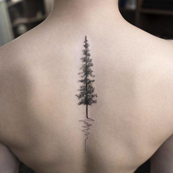 33 inspirações de tatuagem para fazer na coluna 11
