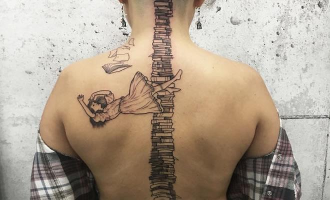 33 inspirações de tatuagem para fazer na coluna 4