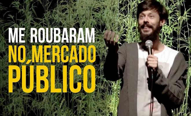 Nando Viana: Me roubaram no Mercado Público 1