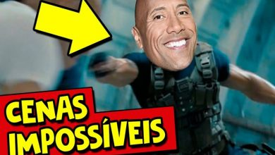 7 cenas impossíveis do The Rock!