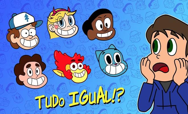 Por que os novos desenhos animados parecem todos iguais? 2