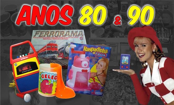 Brinquedos que foram febre na década de 80 e 90