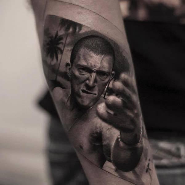 Este tatuador pode criar realidades em corpos das pessoas (26 fotos) 7