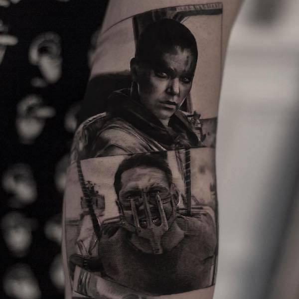 Este tatuador pode criar realidades em corpos das pessoas (26 fotos) 8