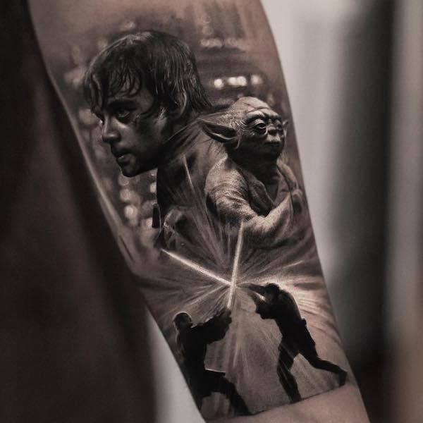Este tatuador pode criar realidades em corpos das pessoas (26 fotos) 10