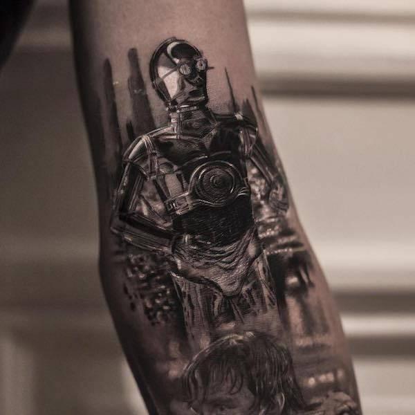 Este tatuador pode criar realidades em corpos das pessoas (26 fotos) 14