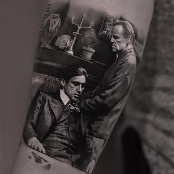 Este tatuador pode criar realidades em corpos das pessoas (26 fotos) 25