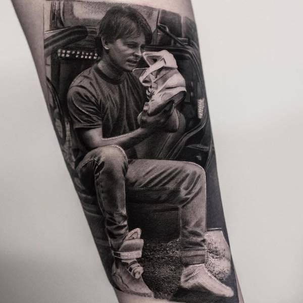 Este tatuador pode criar realidades em corpos das pessoas (26 fotos) 26