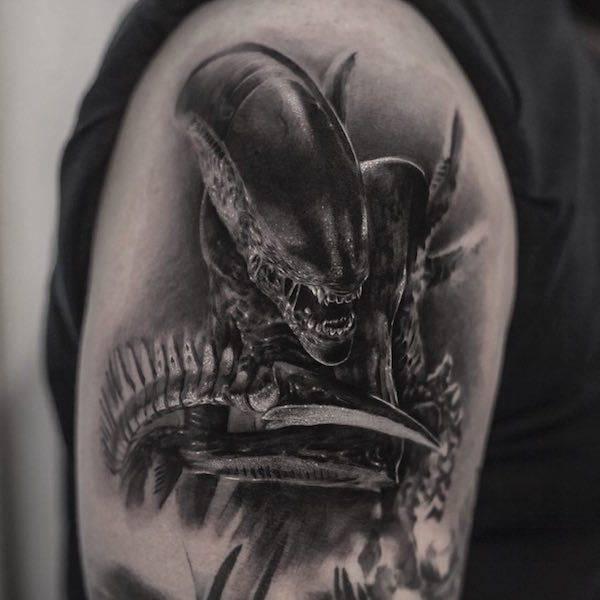 Este tatuador pode criar realidades em corpos das pessoas (26 fotos) 28