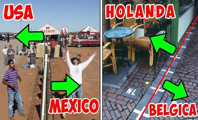 fronteiras - fronteiras incriveis pelo redor do mundo - 8 fronteiras incríveis entre diferentes países ao redor do mundo