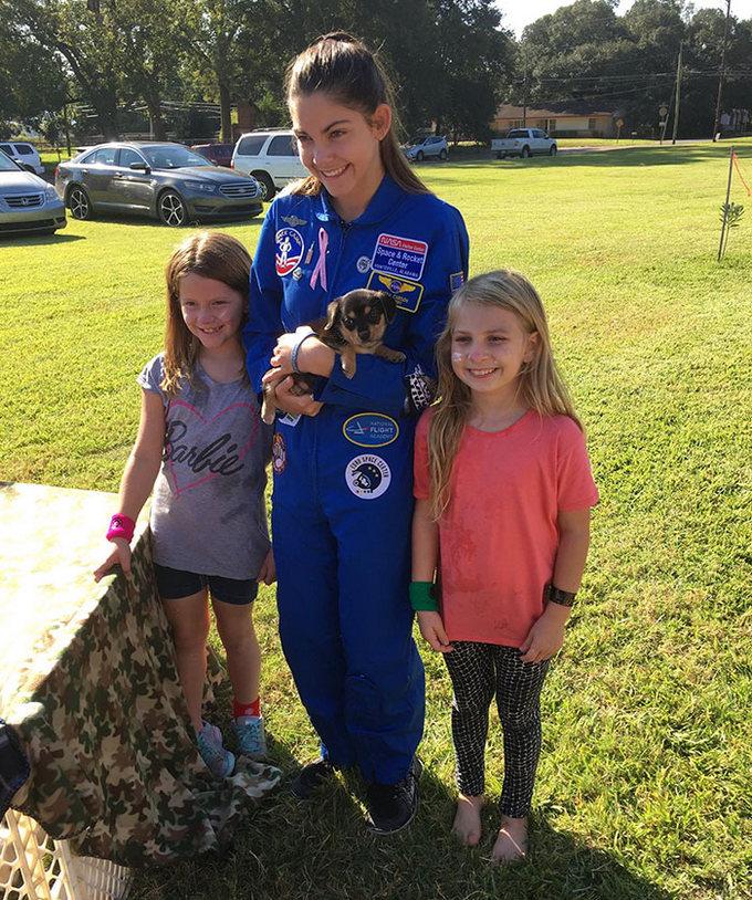 Garota de apenas 17 anos está sendo treinada pela NASA para ser a primeira pessoa em Marte 20