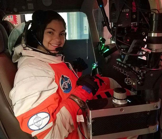 Garota de apenas 17 anos está sendo treinada pela NASA para ser a primeira pessoa em Marte 16