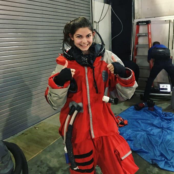 Garota de apenas 17 anos está sendo treinada pela NASA para ser a primeira pessoa em Marte 3