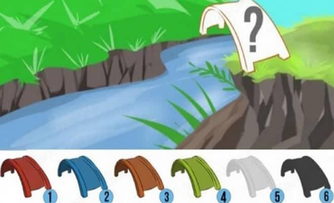 Teste psicológico: De que cor você pintaria a ponte? 1