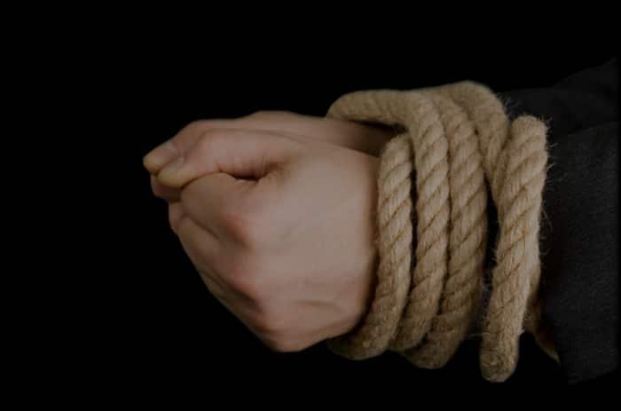 O que fazer se você estiver sendo amarrado