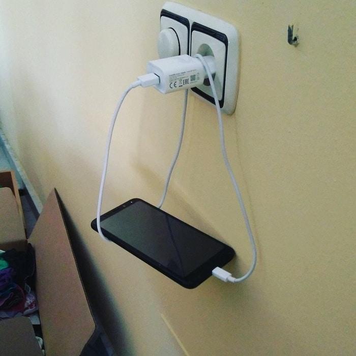 O problema do posicionamento de carregamento do telefone, resolvido