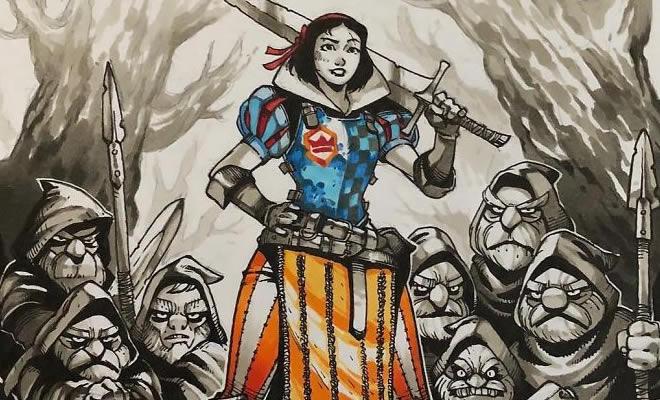 11 Princesas da Disney guerreiras com armaduras 2