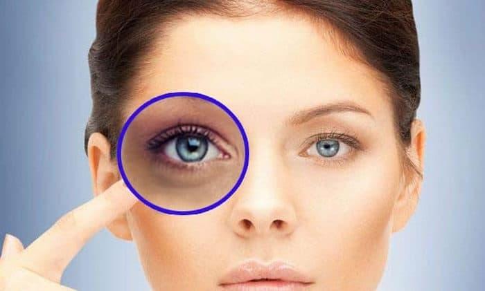 Olhe diretamente nos olhos da pessoa