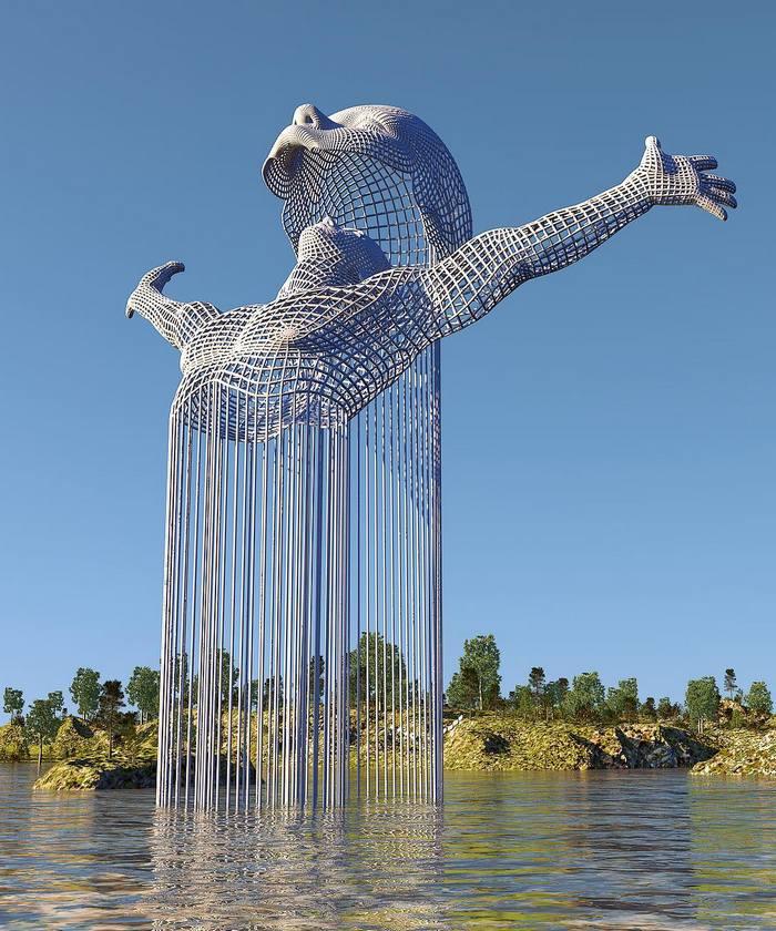 15 esculturas que são tão criativas que merecem um prêmio 9