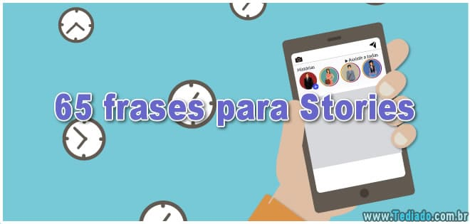 65 frases para Stories