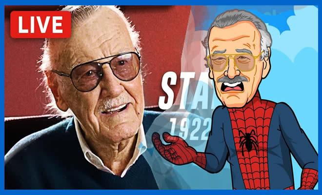 Curiosidades da vida de Stan Lee e homenagem 3