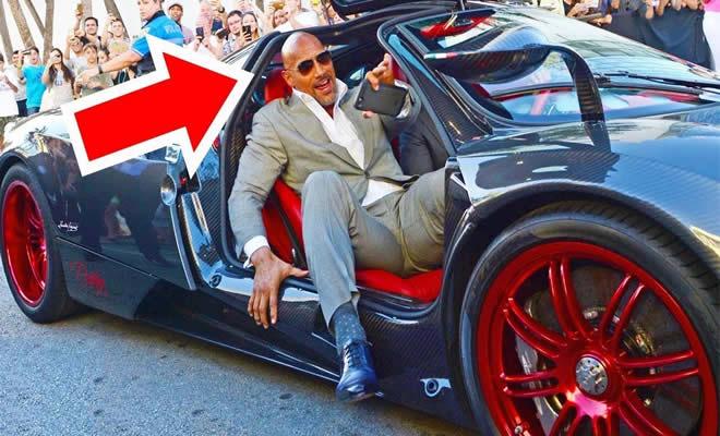"""É assim que o Dwayne """"The Rock"""" Johnson gasta seus milhões 1"""