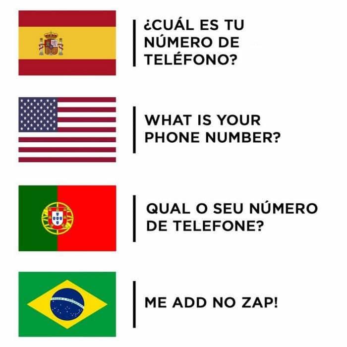 11 motivos que a melhor língua do mundo é do brasileiro 5