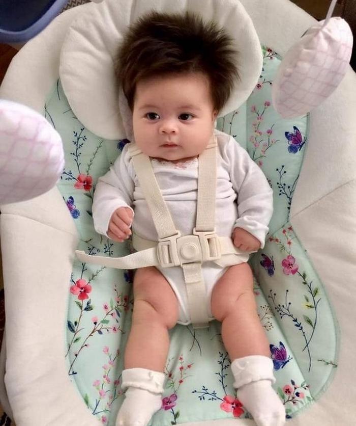 17 fotos de bebês cabeludos e enlouquecem a Internet 11