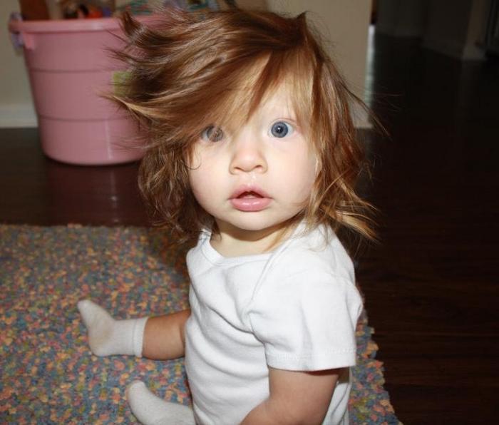 17 fotos de bebês cabeludos e enlouquecem a Internet 19