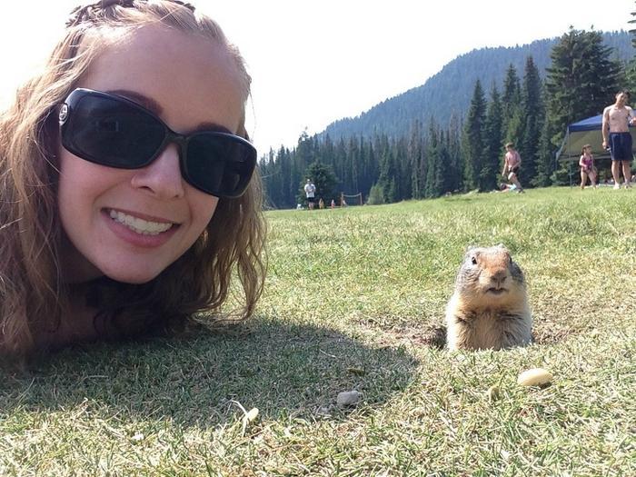 20 pessoas que estão fazendo selfies como um profissional 11