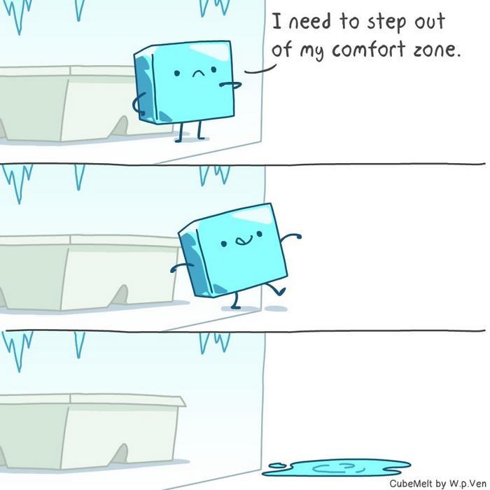 Uma história em quadrinhos sobre um cubo de gelo (36 fotos) 5