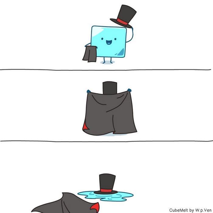Uma história em quadrinhos sobre um cubo de gelo (36 fotos) 7