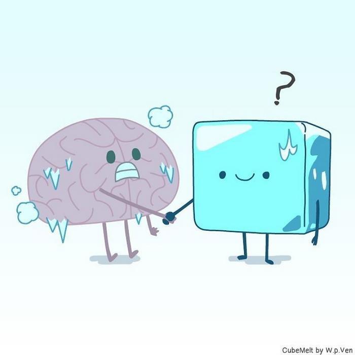 Uma história em quadrinhos sobre um cubo de gelo (36 fotos) 15