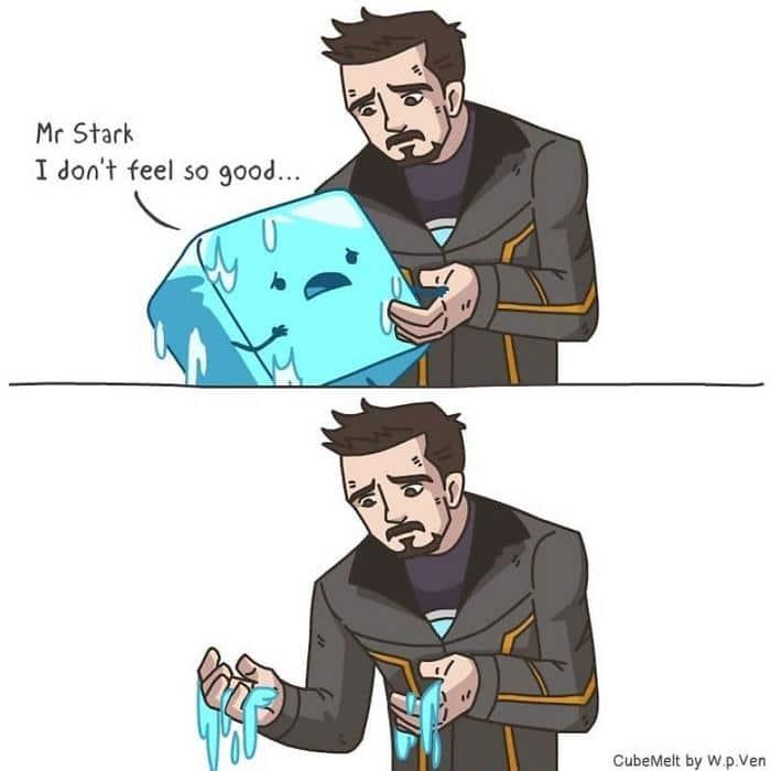 Uma história em quadrinhos sobre um cubo de gelo (36 fotos) 25