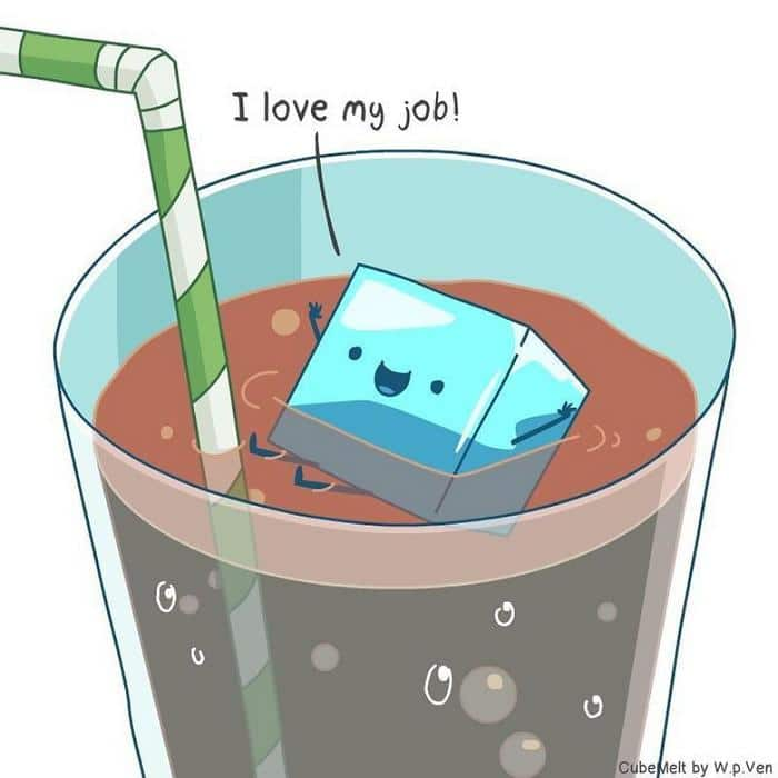 Uma história em quadrinhos sobre um cubo de gelo (36 fotos) 31