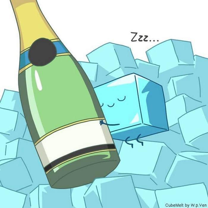Uma história em quadrinhos sobre um cubo de gelo (36 fotos) 35