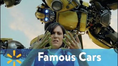 O surreal comercial do Walmart com carros famosos do cinema