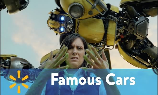 O surreal comercial do Walmart com carros famosos do cinema 3