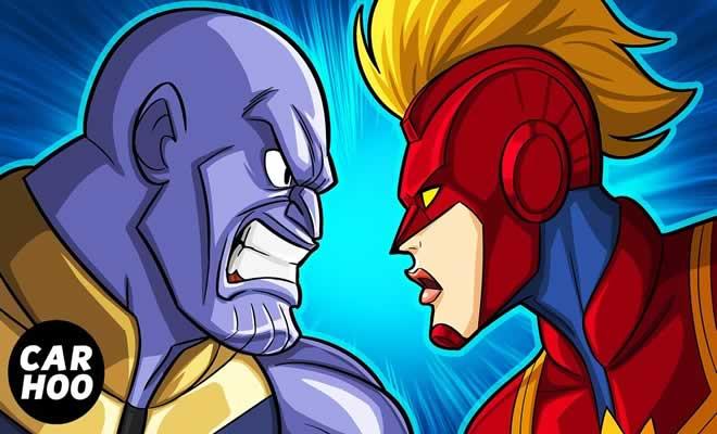 Como a Capitã Marvel vai derrotar Thanos em Vingadores 5
