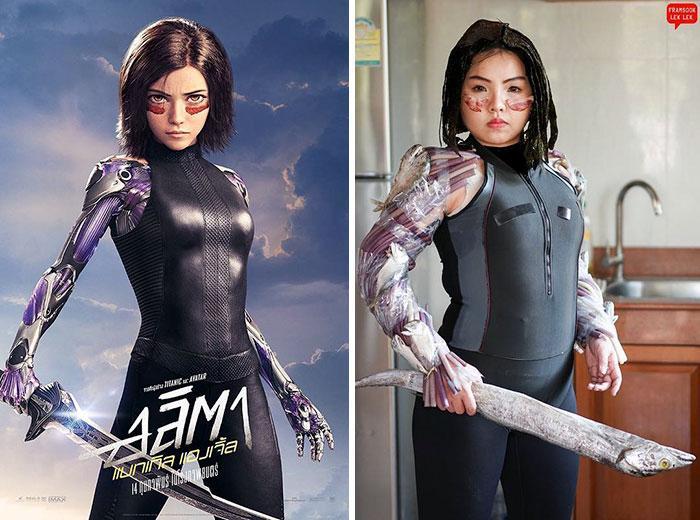 Cospobre: A tailandesa se apodera das redes com seus trajes baratos e muito criativos 7