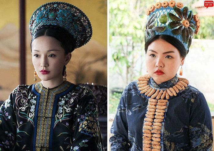 Cospobre: A tailandesa se apodera das redes com seus trajes baratos e muito criativos 8