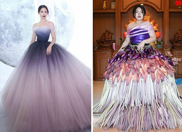 Cospobre: A tailandesa se apodera das redes com seus trajes baratos e muito criativos 10