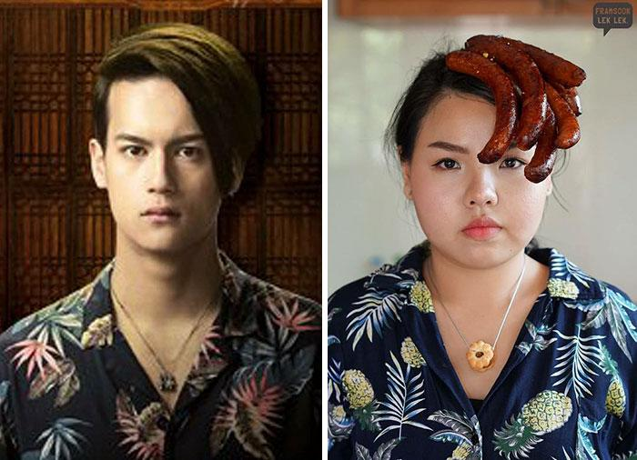Cospobre: A tailandesa se apodera das redes com seus trajes baratos e muito criativos 14