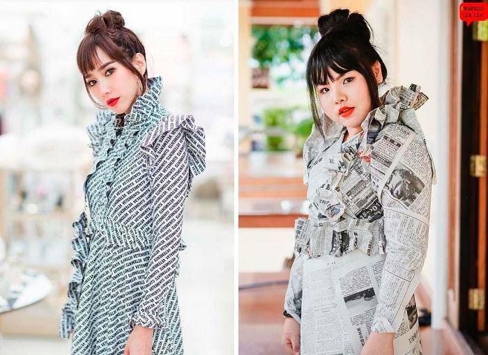 Cospobre: A tailandesa se apodera das redes com seus trajes baratos e muito criativos 28
