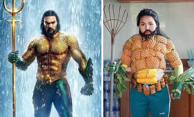 Cospobre: A tailandesa se apodera das redes com seus trajes baratos e muito criativos 35
