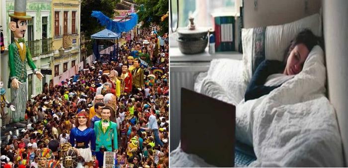 Falta um mês para o Carnaval e a galera tá como? 16