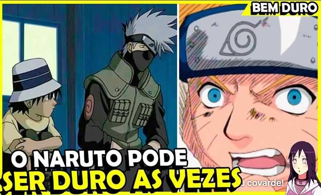 7 vezes que o Naruto foi um pouco duro 5